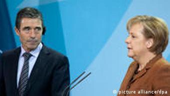 Nato Generalsekretär Rasmussen in Berlin