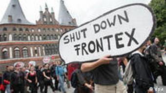 Prosvjedi protiv Frontex-a u Hamburgu prije dvije godine