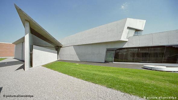 Central de bomberos de Weil, diseñada por Zaha Hadid.