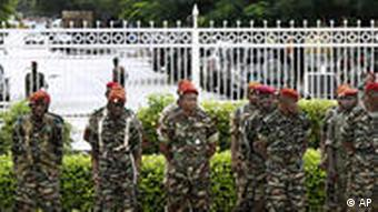 Soldaten in Guinea (Foto: AP)
