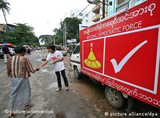 Dossier Teil 1 Wahlen in Myanmar Birma Burma 2010