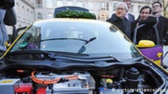 Мотор электромобиля