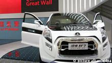 Jeep Hover Great Wall H7 China Shanghai Auto Messe