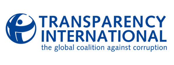 NO FLASH Transparency International Logo Korruption Bestechung Transparenz