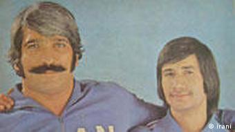 تیمور غیاثی (راست) در پرش ارتفاع و جلال کشمیری در پرش ارتفاع و پرتاب دیسک، جمعاً چهار بار قهرمان بازیهای آسیایی شدند