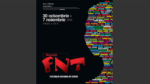 Poster Nationales Theaterfestival in Bukareast Flash-Galerie