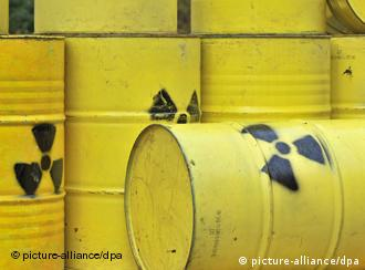 Atommüllfässer (Foto: dpa)