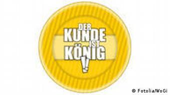 Symbolbild: Der Kunde ist König