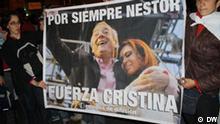 Reaktionen auf den Tod des argentinischen Ex-Präsidenten Nestor Kirchner