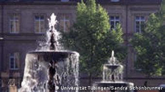 Geschwister-Scholl-Platz vor der Neuen Aula (Foto: Uni Tübingen)