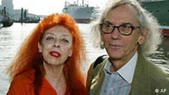 Christo und Jeanne-Claude in Hamburg