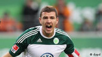 Edin Džeko, donedavni kapetan Wolfsburga