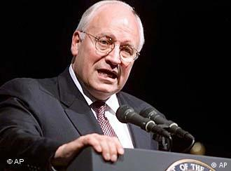 Dick Cheney, vice-presidente norte-americano
