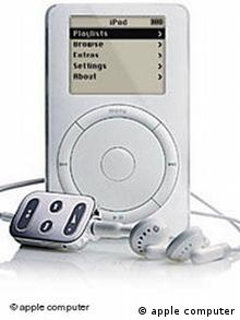 MP3 Player ipod Firma Apple Computer