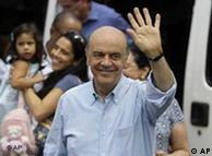 Serra obteve 44% dos votos