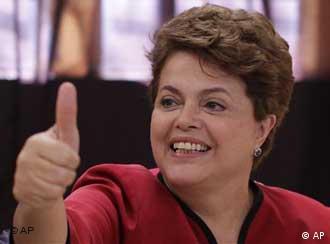 دیلما روسف، پیروز انتخابات