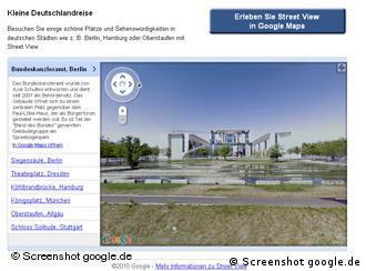 Screen-Shot of chancellors office in Berlin