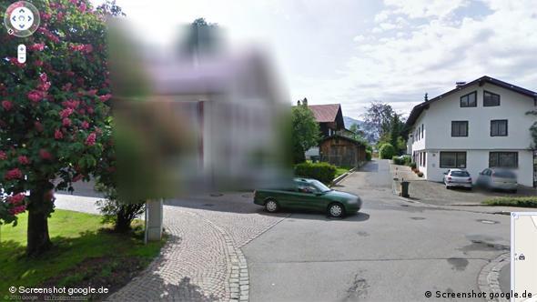 Google Street VIew Oberstaufen FLash-Galerie