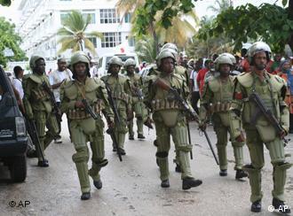 Jeshi la Polisi la Tanzania visiwani Zanzibar.