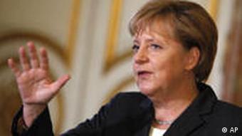 Angela Merkel Belgien Brüssel Yves Leterme