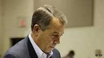 John Boehner casting his vote