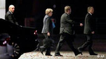 Angela Merkel at Chancellory