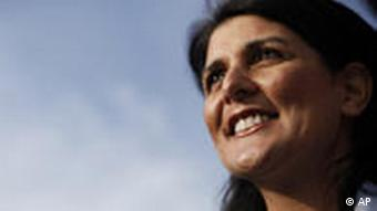 Gouverneurin von South Carolina, Nikki Haley (Foto: AP)