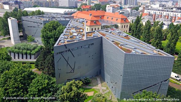 Aerial view of the Jewish Museum in Berlin