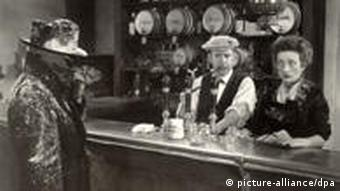 Film still from The Invisible Man
