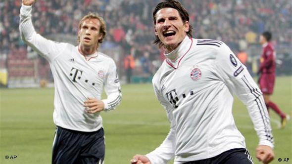 Mario Gomez, napadač FC Bayerna