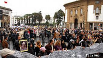 protests in rabat