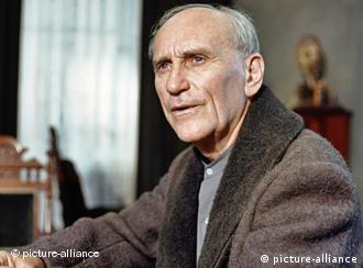 Bernhard Minetti în 1990