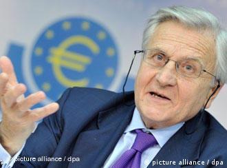 Pressekonferenz Jean Claude-Trichet in Frankfurt am Main