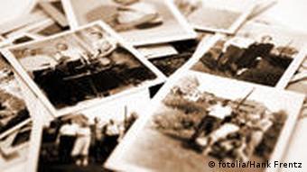 Foto Stapel alt schwarz weiß