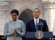 भारत में ओबामा दंपत्ती