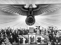 Sessão no Reichstag em 1938