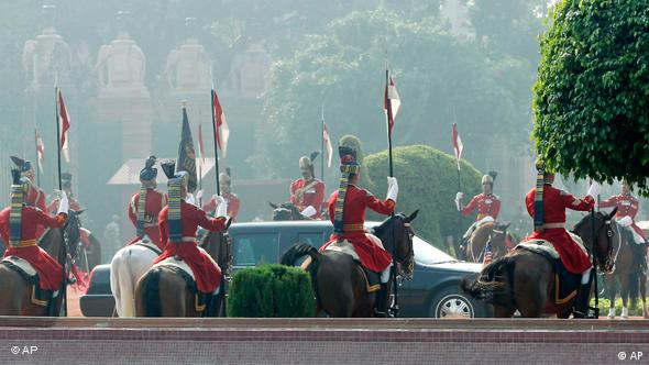 Obama in Indien Parade Flash-Galerie