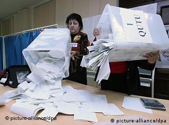 شمارش آرای انتخابات پارلمانی در جمهوری آذربایجان