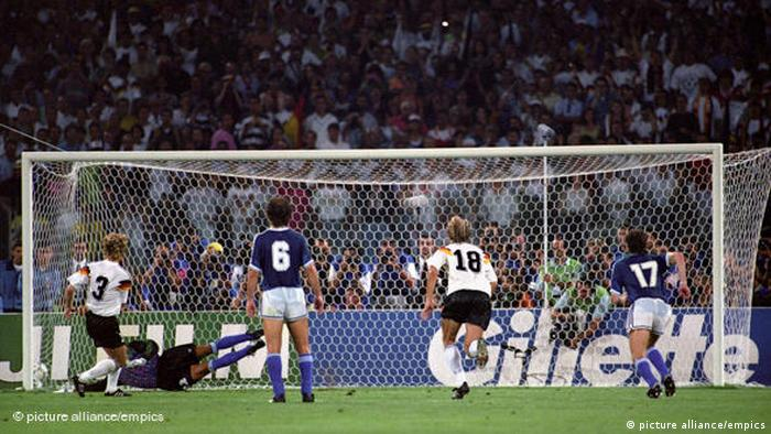 Andreas Brehme goal in 1990 final