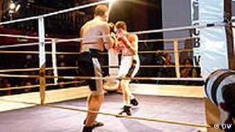 Chess boxing in Berlin