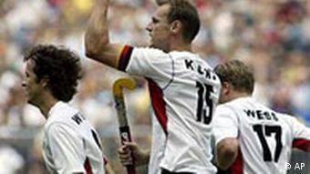 Hockey Deutschland Pakistan in Köln