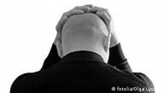Symbolbild Stress Depression