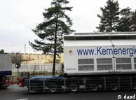 Once contenedores Castor con 123 toneladas de basura atómica llegaron a Gorleben.