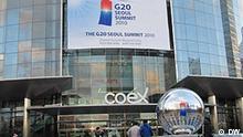 G20 Seoul Tagungsort COEX Seoul