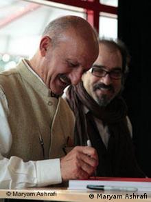 رضا دقتی، عکاس سرشناس ایرانی از امضاکنندگان بیانیه عکاسان ایرانی برای آزادی مریم مجد