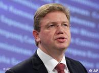 Stefan Füle, Comisario europeo de Ampliación y Política Europea de Vecindad.