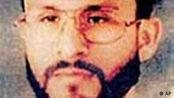 Undated handout photo provided by U.S. Central Command, shows Abu Zubaydah