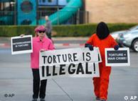 人权组织抗议布什政府使用刑讯