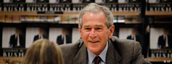 NO FLASH Ex-Präsident George W. Bush Memoiren USA Kind