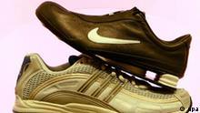 Symbolbild Nike vs Adidas